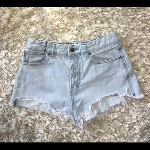 FREE PEOPLE - denim shorts